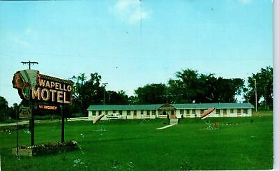 OTTUMWA, IA Iowa     WAPELLO MOTEL   c1950s  Roadside   Postcard
