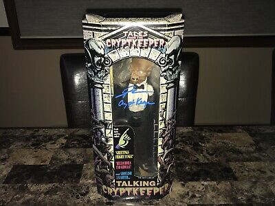 Tales From The Crypt Keeper Signed Horror Action Figure John Kassir Photo Proof