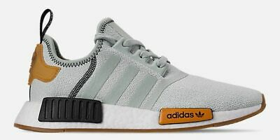 b2eceb0e6 ADIDAS NMD R1 RUNNER CASUAL MESH WOMEN s VAPOUR GREEN - BRIGHT GOLD  AUTHENTIC SZ