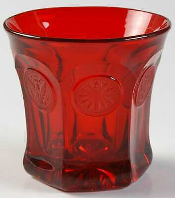 Fostoria COIN GLASS RUBY Double Old Fashioned Glass 2260544