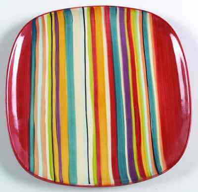 Tabletops Unlimited WATER COLOR-RED Dinner Plate 6707230