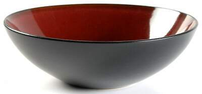 "Gibson Designs ANTICA ROMA RED 9"" Round Vegetable Bowl 10274516"