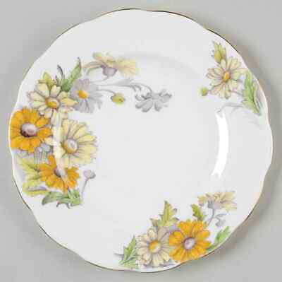 Royal Albert FLOWER OF THE MONTH Daisy Salad Plate 5487862
