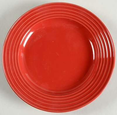 Gibson Designs STANZA-RED Salad Plate 10097241
