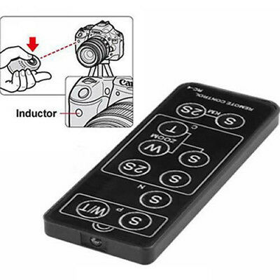 IR Wireless Remote Control for Nikon Canon Pentax Konica DSLR Camera EC