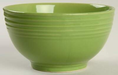 Gibson Designs STANZA GREEN Soup Cereal Bowl 10097232