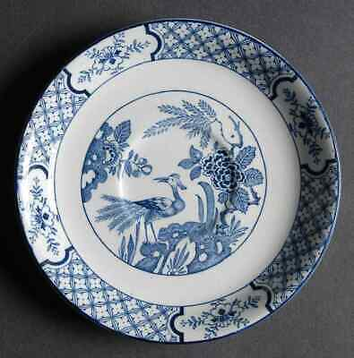 Wood & Sons YUAN BLUE & WHITE Saucer For Oversized Cup 775109