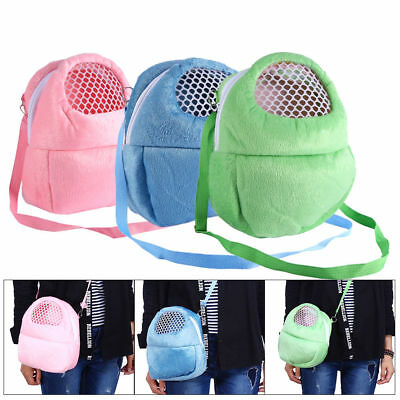 Outdoor Pet Carrier Hamster Hedgehog Small Animal Travel Velvet Sleeping HandBag