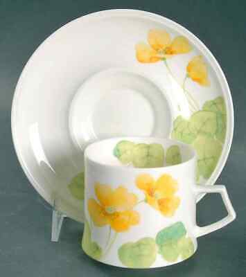 Mikasa WATER LILIES-YELLOW Cup & Saucer 400776