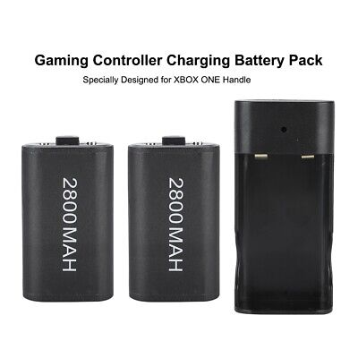 2400/2800mAh 5V Rechargeable Battery Pack for Xbox ONE Controller Charging Dock