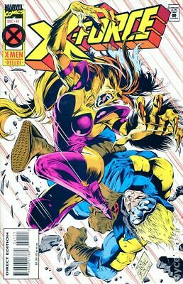 X-Force (1st Series) #41D 1994 VG Stock Image Low Grade