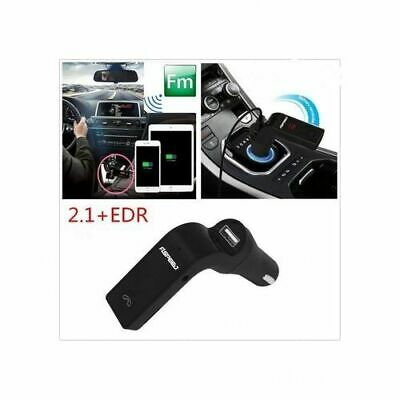 CARG7 NOIR BLUETOOTH Kit Voiture Transmetteur FM  MP3 Player SD USB Chargeur