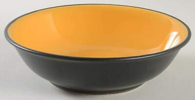Gibson Designs VIVENDI YELLOW Soup Cereal Bowl 10462523
