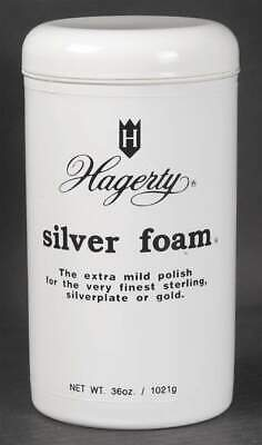 Hagerty SILVERWARE CARE 36 Oz. Silver Foam Mild Polish Apply And Rinse 10926706