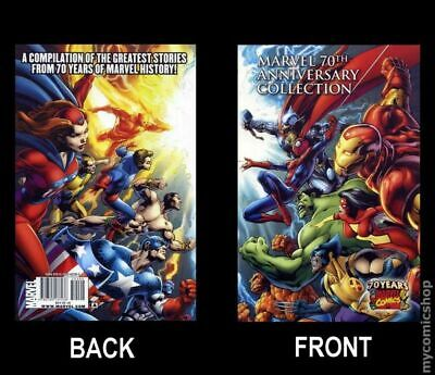 Marvel 70th Anniversary Collection TPB #1-1ST 2009 NM Stock Image