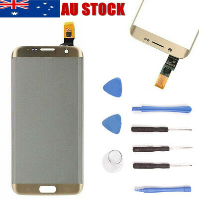 For Samsung Galaxy S7 Edge LCD Touch Screen Replacement Digitizer Display Gold