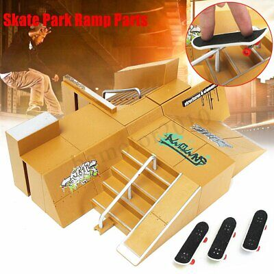 Skate Park Ramp Parts for Tech Deck Fingerboard Ultimate Parks Red K3M7