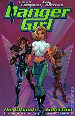 Danger Girl Ultimate Collection TPB (Wildstorm) #1-1ST 2002 VF Stock Image