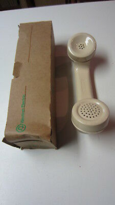 Vintage Western Electric Telephone Almond Hand Set, NOS, # 615A-50