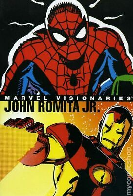 Marvel Visionaries John Romita, Jr. HC #1-1ST 2005 VF Stock Image