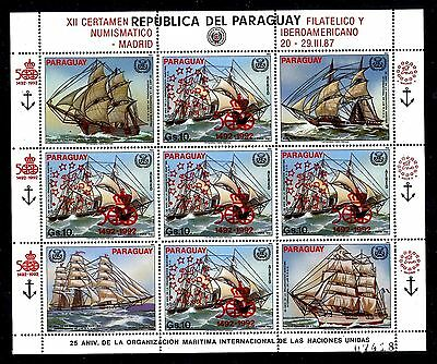 Paraguay C545-c546, MNH Schiff Discovery Of America 1983.