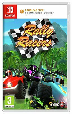 Rally Racers Nintendo Switch Game.