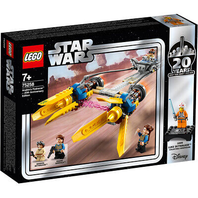 Lego Star Wars 20th Anniversary Anakin's Podracer Building Set - 75258