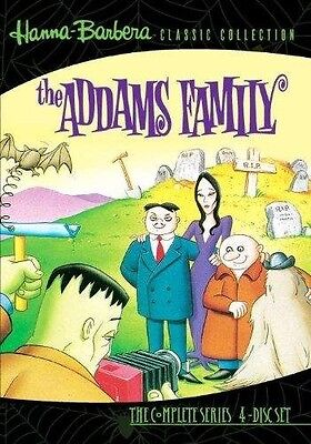 The Addams Family Animated Series 4 DVD Set 1973-74