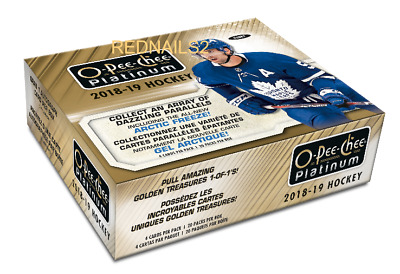 2018/19 Upper Deck  Opeechee Platinum Hockey Hobby Box  New/Sealed