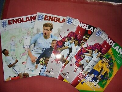 2017 England Home Programmes Choose From