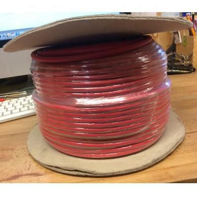 100 Meter 7mm HT Ignition Lead Cable Wire Core PVC (Colour Off Red Slightly Pink