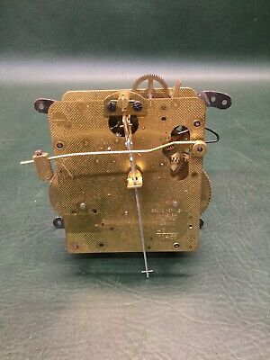 NOS Vtg Brass Hermle Clock Movement Germany 0 Jewels 141-070 43cm '73