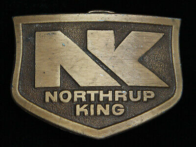 QF01129 VINTAGE 1970s **NORTHRUP KING** FARMING & AGRICULTURE COMPANY BUCKLE