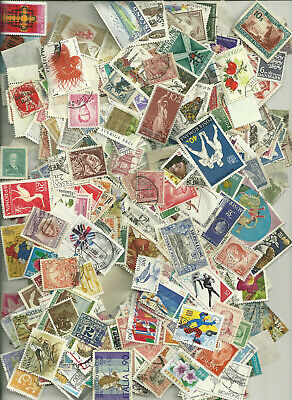 500 Worldwide Stamps,  All Different, No Us 25