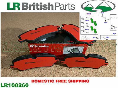 GENUINE LAND ROVER REAR BRAKE PADS R ROVER 13 SPORT 14 NEW DISCOVERY 17 LR108260