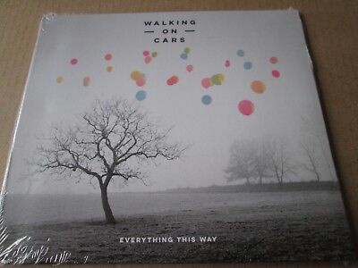 Walking on Cars - Everything This Way  [CD]  NEW AND SEALED