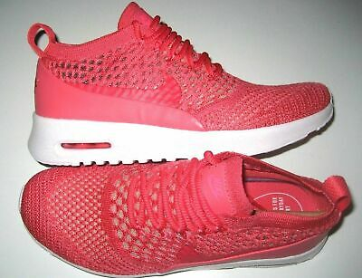 56230a9ae4 Nike Womens Air Max Thea Ultra Flyknit Running Shoes Geranium Size 8 NEW NR