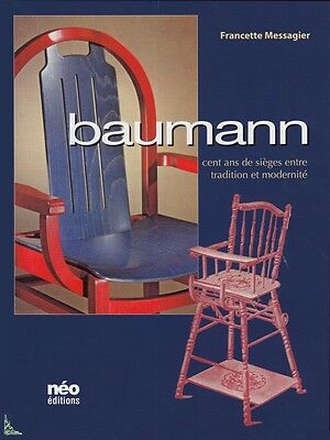 Baumann, 100 years of seats, French book