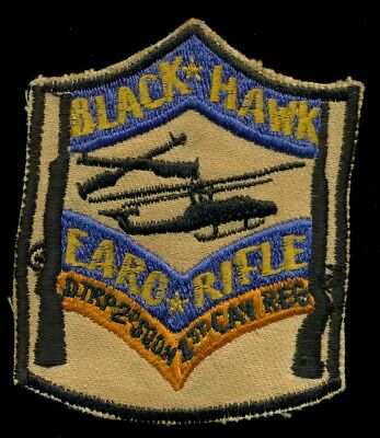 US Army Delta Troop 2nd SQ 1st Cavalry Regiment Helicopter Vietnam Patch L-1