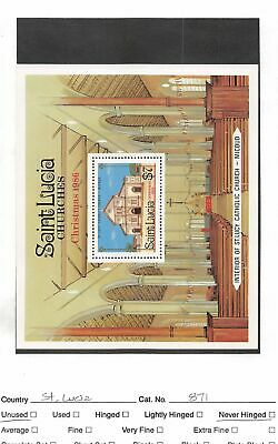 Lot of 40 St. Lucia MNH Mint Never Hinged Stamps #106944 X