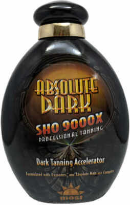 Most Absolute Dark SHO 9000 Dark Tanning Accelerator Indoor Tanning Bed Lotion