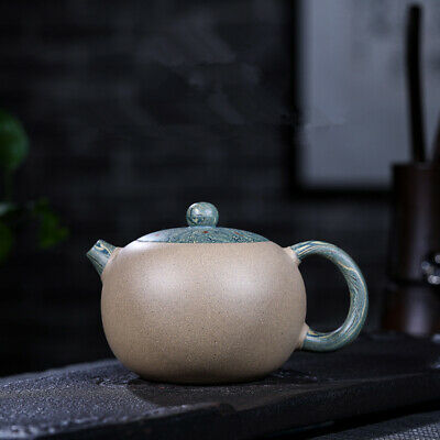 Chinese master handmade tea pot marked real yixing zisha xishi pot great value