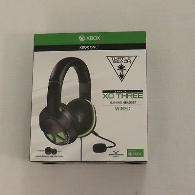 Turtle Beach XO THREE Black Headband Headsets for Multi-Platform New in the Box