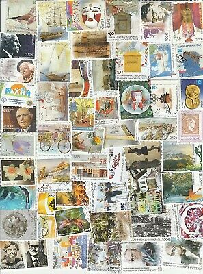 Greece 100   Used  Euro Stamps  Lot