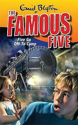 (Good)-Five Go Off To Camp: Book 7 (Famous Five) (Paperback)-Blyton, Enid-034093