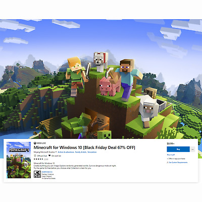🔥 Minecraft Windows 10 Edition - Official Activation Key - Global Access 🔥