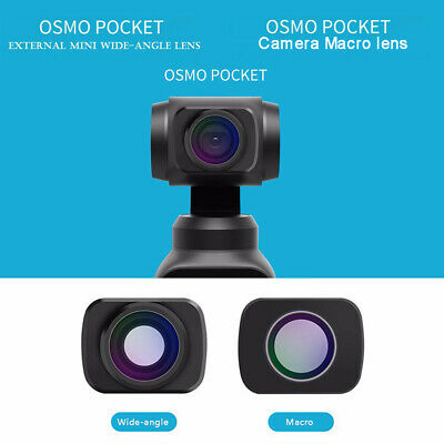 Wide-angle&Macro Lens For DJI OSMO POCKET Handheld Camera HD Anti-shake