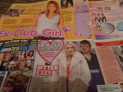 S Club 7  Celebrity  Clippings Pack  Good Condition