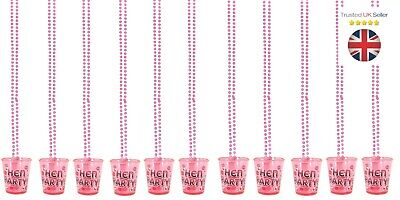 Hen Night Party Shot Glasses Drinking Game Fun Hen Party Accessories Uk Seller