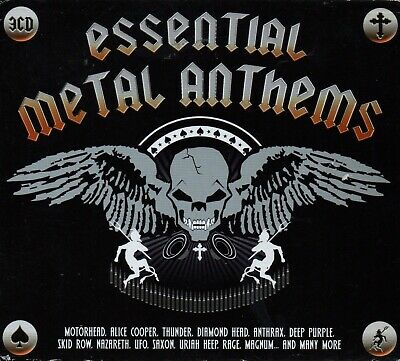ESSENTIAL METAL ANTHEMS - Various Artists - 3xCD Boxset